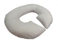 """Подушка для беременных KIDIGO """"Рогалик"""" 82х96х19 см Горошек (PDV-R3)"""