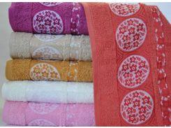 Набор 6 махровых полотенец Sweet Dreams M8 70х140 см банные Разноцветные (psg_SA-2604)