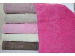 Набор 6 махровых полотенец Sweet Dreams M7 70х140 см банные Разноцветные (psg_SA-2603)