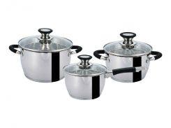 Набір посуду 6 пр. GT-1303-06/1 77386 ТМ Gusto Сріблястий (433004)