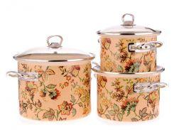 Набір емальованого посуду ТМ Idilia №1500 Версаль (310146)