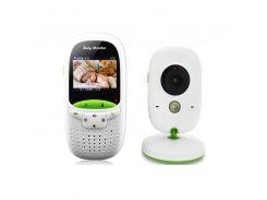 Видеоняня Baby Monitor VB602 Белый с зеленым (200203)