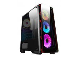 Корпус Xigmatek Аstro Metal Red RGB (EN42418)