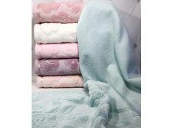 Набор 6 махровых полотенец Durul Havlu Shehzade 50х90 см лицевые Разноцветные (psg_SA-4307)