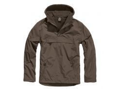 Куртка ветровка Brandit Windbreaker BROWN S Коричневый (3001.6)