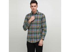 Рубашка HIS S Зеленый (HS650438-S)