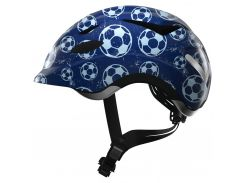 Велосипедний дитячий шолом ABUS ANUKY M Blue Soccer (819049)