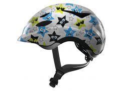 Велосипедний дитячий шолом ABUS ANUKY S White Star (819025)