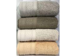 Набор 4 полотенца Pupilla Emily 50х90 см лицевые трикотаж Разноцветные (psg_SA-4439)