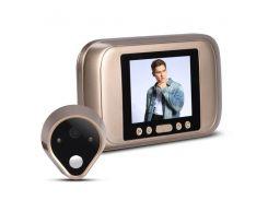 """Видеоглазок дверной цифровой для квартиры Kivos SG32 с 3.5"""" экраном и фото/видео записью (100387)"""