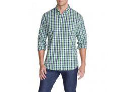 Рубашка Eddie Bauer Mens Long-Sleeve Poplin Shirt DILL XXL Разноцветный (8534DLL-XXL)