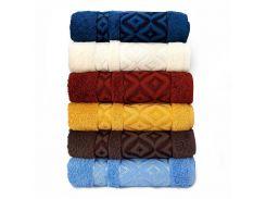 Набор махровых полотенец Sikel Cotton Prizma 70*140 6 шт (8681049352262)