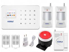 Беспроводная GSM сигнализация для дома, дачи, гаража комплект Kerui alarm G18 (Economy House 2) 433мГц (DI513445395679)