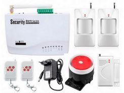 Беспроводная GSM сигнализация для дома, дачи, гаража комплект Kerui alarm G01 (Hone2) 433мГц (DI5134453956351)