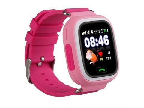 Детские часы-телефон с GPS WONLEX Q90S Pink Киев
