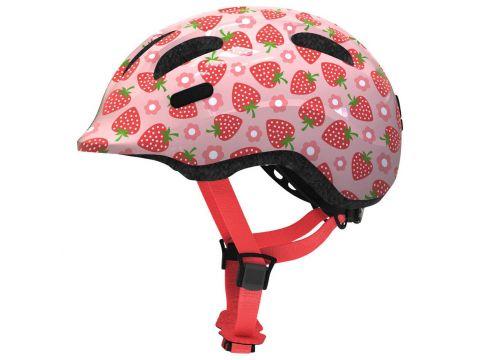 Велосипедний дитячий шолом ABUS SMILEY 2.1 S Rose Strawberry (817960) Киев