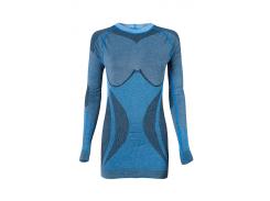Термокофта женская Haster Alpaca Wool M/L Синяя