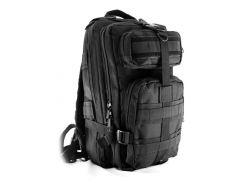 Рюкзак военный тактический Molle Assault 20L Черный (gr006869)