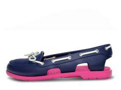 Женские мокасины Crocs Beach Line Boat Purple Pink W размер W9 (114848-W9)