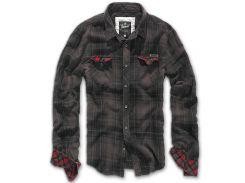 Рубашка Brandit Check Duncan BROWN-BLACK XXL Комбинированный (4016.67)