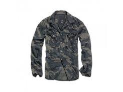 Рубашка Brandit Slimfit Shirt DARKCAMO XXXL Камуфляж (4005.4)