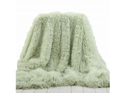 Покрывало с длинным ворсом Leopollo Светло-зеленый (0612)