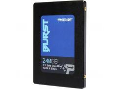 Накопитель SSD Patriot Burst 240GB 2.5 SATAIII TLC 3D PBU240GS25SSDR (U0314060)