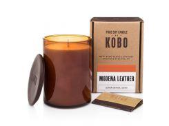 Ароматическая свеча Kobo Modena Leather 425 г (811404)