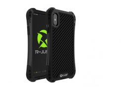 Чехол противоударный R-Just Amira для iPhone X Black (AL1321)