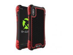 Чехол противоударный R-Just Amira для iPhone X Black-Red (AL1322)