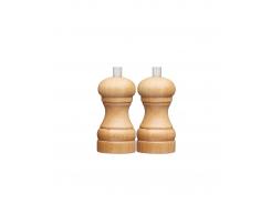 Набор мельниц KitchenCraft для соли и перца 11 см Светло-коричневый (515292)