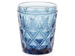 Набор 6 стаканов Siena Toscana 340 мл Синее стекло (psg_BD-581-071)