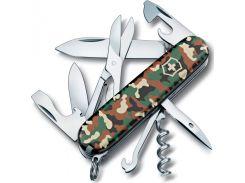 Швейцарский нож Victorinox Swiss Army Climber Camouflage 1.3703.94 Хаки (2033146)