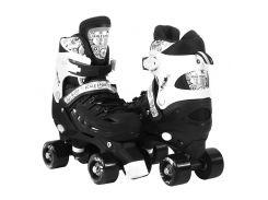 Роликовые коньки Scale Sports 34-38 Black (1270818579-M)