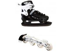 Роликовые коньки Scale Sport 2in1 34-37 Black (1564908596-M)