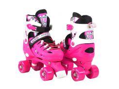 Роликовые коньки Scale Sports 34-38 Pink (974756679-M)