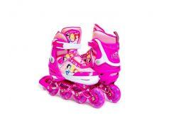 Комплект роликов Disney Princess 34-37 Розовый (1373345290)