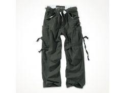 Брюки Surplus Vintage Fatigue Trousers Schwarz Gewas S Черный (05-3596-63-S)