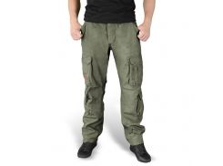 Брюки Surplus Airborne Slimmy Trousers Oliv Gewas S Зеленый (05-3603-61)