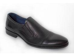 Мужские осенние туфли Lioneli 41 Черные (lo3017-01 41)