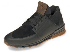 Кроссовки мужские Mida 42 Черный с коричневым (111217/3 42)