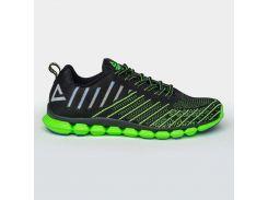 Кроссовки PEAK Sport E72057H-BLA 41 Черные с зеленым (6956251185406)