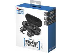 Наушники Trust Duet2 True Wireless Earbuds Black (22864) (WY361887661)