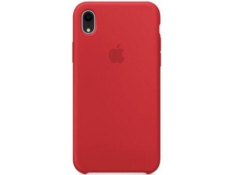 Силиконовый чехол Grand для Apple iPhone Xr Silicone Case OEM Red (7354)