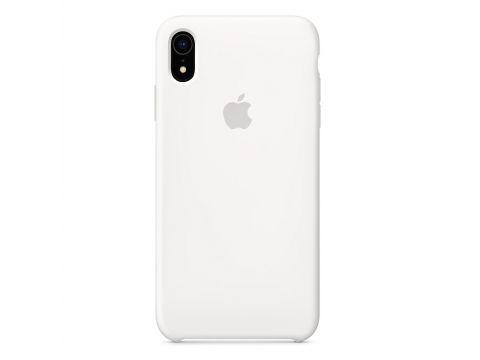 Силиконовый чехол Grand для Apple iPhone Xr Silicone Case OEM White (7357)