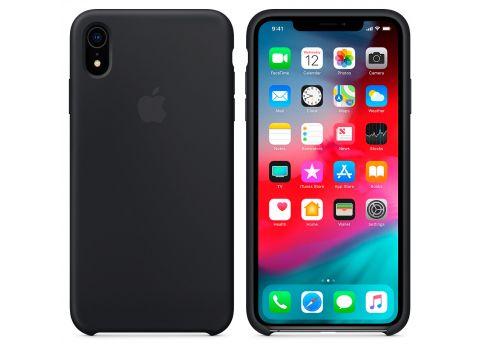 Силиконовый чехол Grand для Apple iPhone Xr Silicone Case OEM Black (7353)