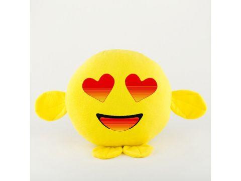 "Подушка ""Смайл Влюблен"" Желтый (PS_004_yellow_fk_1)"