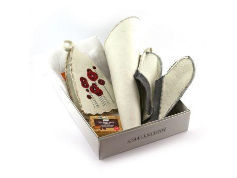 Подарочный набор для сауны Sauna Pro №1 Маки (N-102)