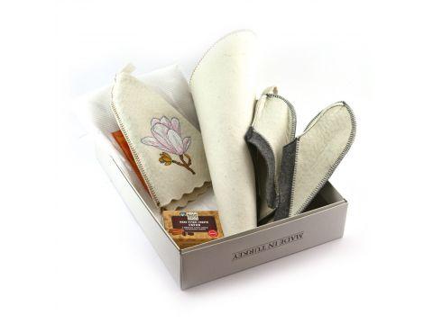 Подарочный набор для сауны №1 Sauna Pro Магнолия (N-101)