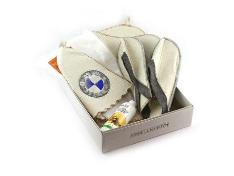 Подарочный набор для сауны  Sauna Pro №2 БМВ (N-107)